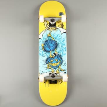 "Anti Hero 'Grimple Glue LG' 8"" Complete Skateboard (Yellow)"