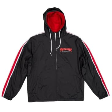 Thrasher Godzilla Track Jacket - Black