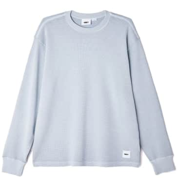 OBEY Bold Label Sustain Thermal Long Sleeve T-Shirt - Good Grey