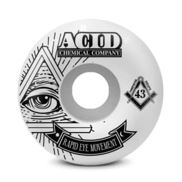 "ACID CHEMICAL REM ""PYRAMID"" WHEELS 54MM 99A"