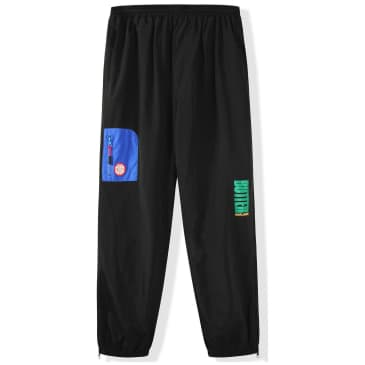 Butter Goods Foley Tracksuit Pants - Black