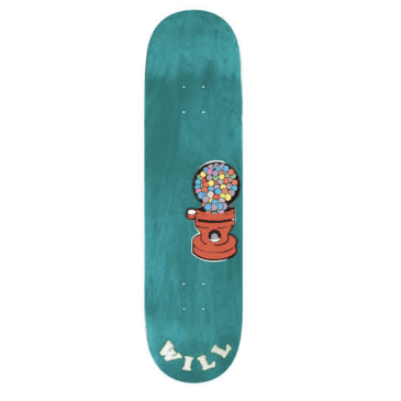 """Alltimers Sticker Will Marsh Deck (Various Wood Stains) 8.25"""""""
