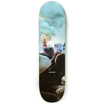 "Polar Skate Co. Paul Grund Notre Dame Slick Skateboard Deck - 8.5"""
