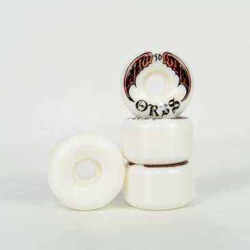 Welcome Skateboards - 56mm (99a) Orbs Specter Wheels - White