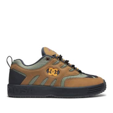 DC Shoes x Bronze 56K Lukoda Skate Shoes - Brown / Green