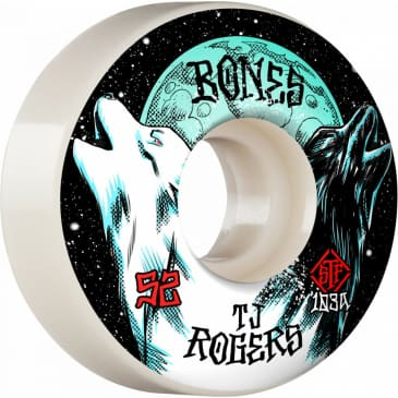 Bones Pro STF 52mm V3 Slim TJ Rogers Wheels 103A