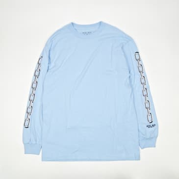 Hotel Blue Chains Long Sleeve T-Shirt - Slate
