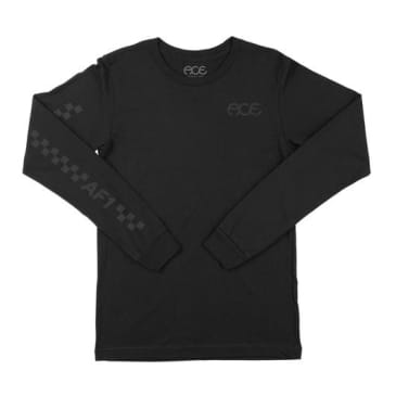 ACE PADDOCK L/S TEE - BLACK