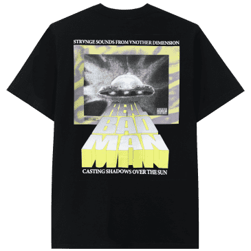 Real Bad Man Strange Sounds Short Sleeve T-shirt - Black