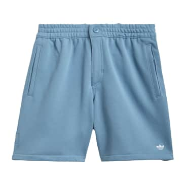 Adidas Heavyweight Shmoofoil Shorts - Hazy Blue/White