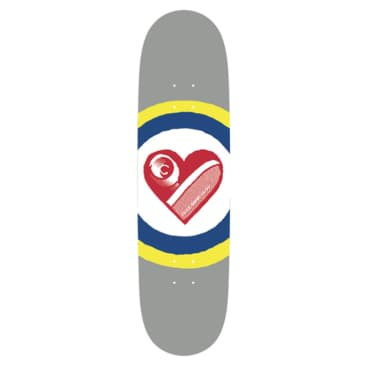 Free Dome Skateboards - FREE DOME - Sk8 Heart Deck - 8.25""