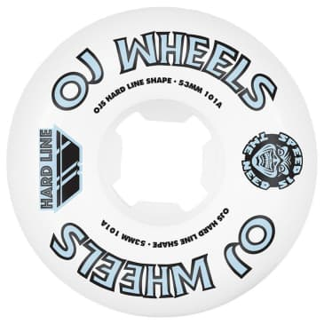 OJ Wheels Team Line OG Hardline 101a 53mm