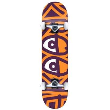 """Krooked Skateboards Big Eyes Too Orange Complete Skateboard 8.25"""""""