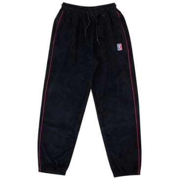 Yardsale Velour Joggers - Black