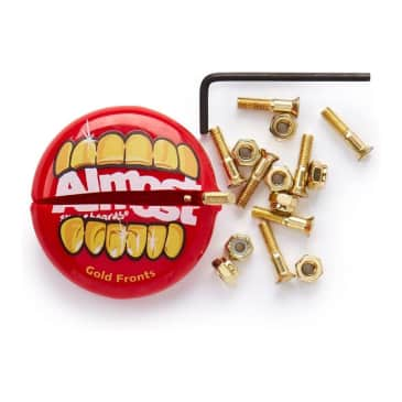"""Almost Gold Nuts & Bolts 1"""" Allen Hardware"""