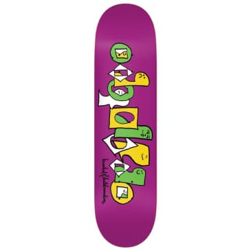 "Krooked Pals Team Series Deck Purple 8.5"""