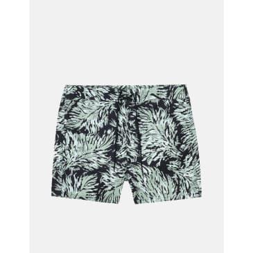 Carhartt-WIP Shaka Swim Short (Hinterland Print) - Black
