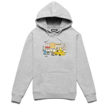 Chrystie NYC Chrystie Monster Hoodie - Ash Grey