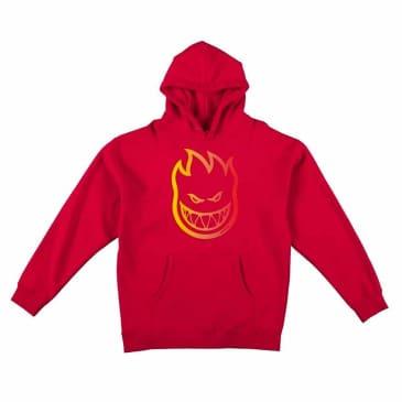 SPITFIRE BIGHEAD HOODIE - RED