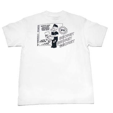 35th North Secret T-Shirt - White