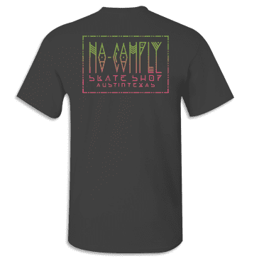 No-Comply Mexican Blanket Shirt - Black/Green