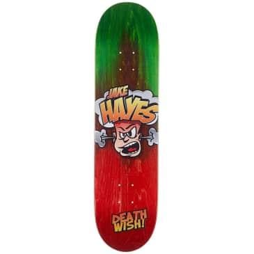 Deathwish Skateboards Jake Hayes Hot Head Skateboard Deck - 8.00