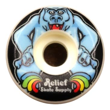 Relief Abominable Snowman Wheels 52mm