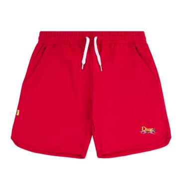 Dime French Terry Shorts - Red
