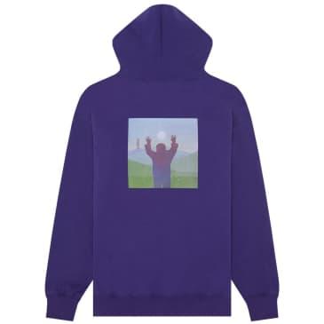 Fucking Awesome Album Hoodie - Grape