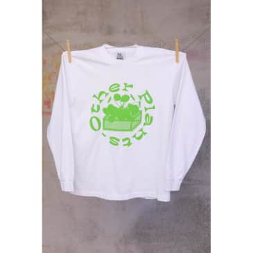 VN Other Plants Long Sleeve T-shirt - White