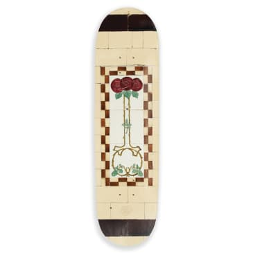 Pass~Port Skateboards - Pass Port - Tile Life (Cream) deck - 8.38""
