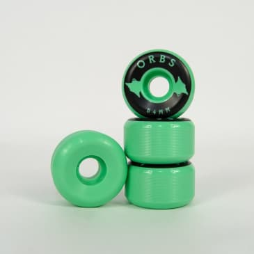 Welcome Skateboards - 54mm (99a) Orbs Specter Solids Wheels - Mint