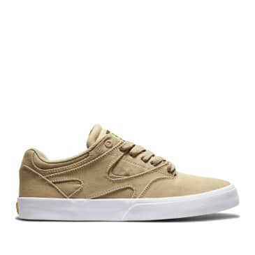 DC Kalis Vulc Skate Shoes - Tan