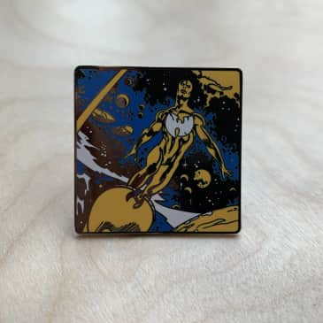 Minerva - Wuniverse pin badge