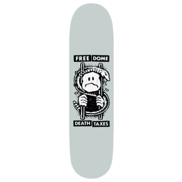 Free Dome Death and Taxes Deck - 8.8""