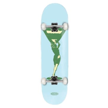 """Pass~Port - Cup Runneth Series - Miss Martini - Complete Skateboard - 8.125"""""""