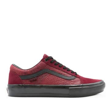 Vans Skate Old Skool Breana Geering Shoes - Port / Black