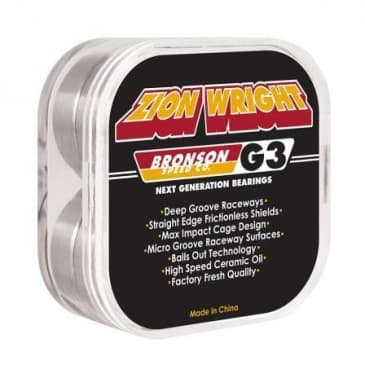 Bronson Speed Co Zion Pro G3 Bearings