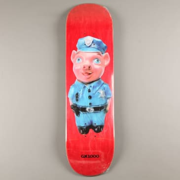 """GX1000 'Pig - Two' 8.5"""" Deck (Red Stain)"""