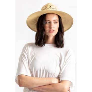 Brixton Joanna IV Straw Hat - Tan