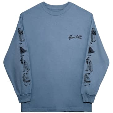 Pass~Port Dancer Long Sleeve T-Shirt - Stonewash Blue