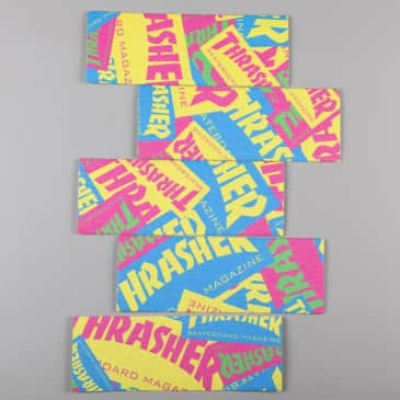Mob X Thrasher 'Retro Graphic' Grip Strips (Assorted)
