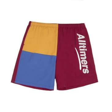 Alltimers Part 3 Shorts - Burgundy