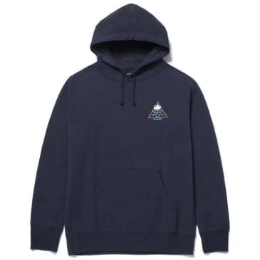 HUF BLVD Triple Triangle Hoodie - French Navy