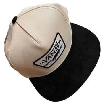 Vans Hat Full Patch Snapback Oatmeal Black