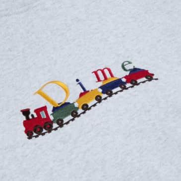 Dime Classic Train Hoodie - Ash
