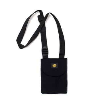 Magenta Pouch Bag - Black