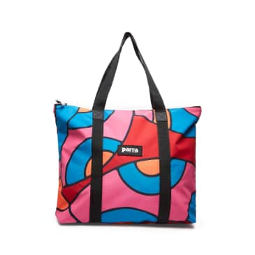 by Parra Serpent Pattern Tote Bag - Multi