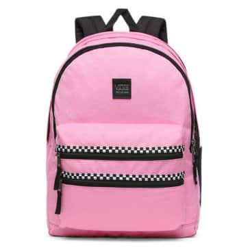 Schoolin It Backpack | Pink Checkered