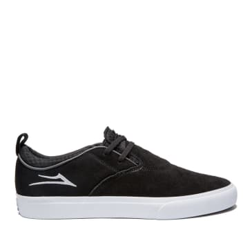 Lakai Riley Hawk 2 Suede Skate Shoes - Black